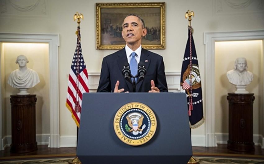 Obama Rusiyaya qarşı sanksiyaları imzalayıb