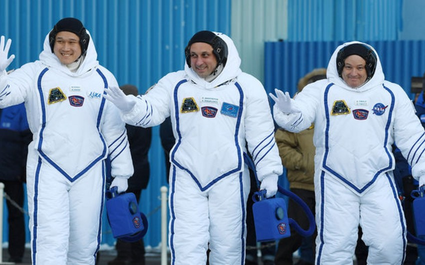 Yaponiyalı astronavtın boyu kosmosda 9 sm uzanıb