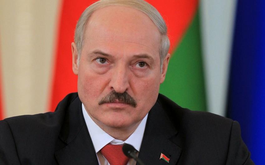 Belarus prezidenti Azərbaycan prezidentinə başsağlığı verib