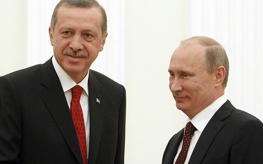 Ərdoğanla Putin Bakıda bağlı qapılar arxasında görüşüb