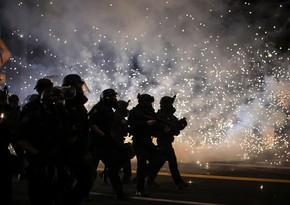 ABŞ-da polis qarışıqlıqların 50-dən çox iştirakçısını saxlayıb