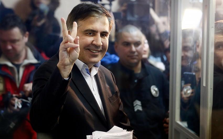 Saakaşvili Ukrayna Baş Prokurorluğunda dindiriləcək
