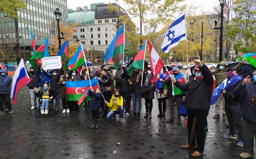 В Монреале состоялась акция протеста против армянского терроризма