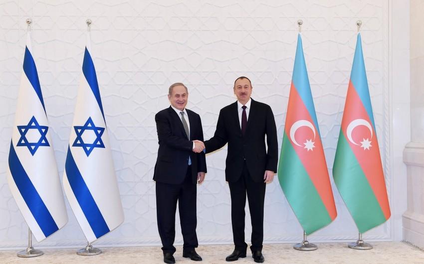 Benyamin Netanyahu Prezident İlham Əliyevə məktub göndərib