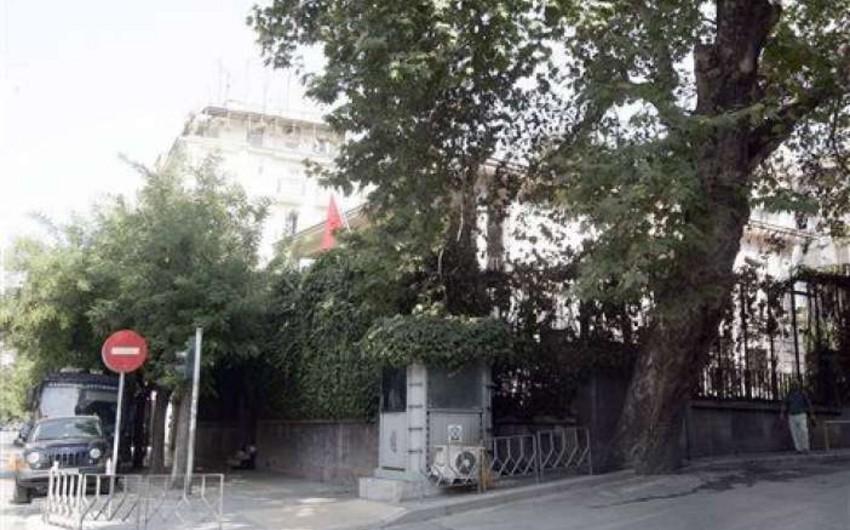 Türkiyənin Yunanıstandakı konsulluğunun binasına hücum olub