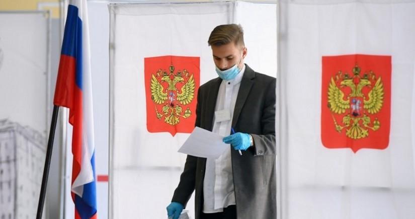 Проживающие в Азербайджане россияне голосуют на выборах в Госдуму