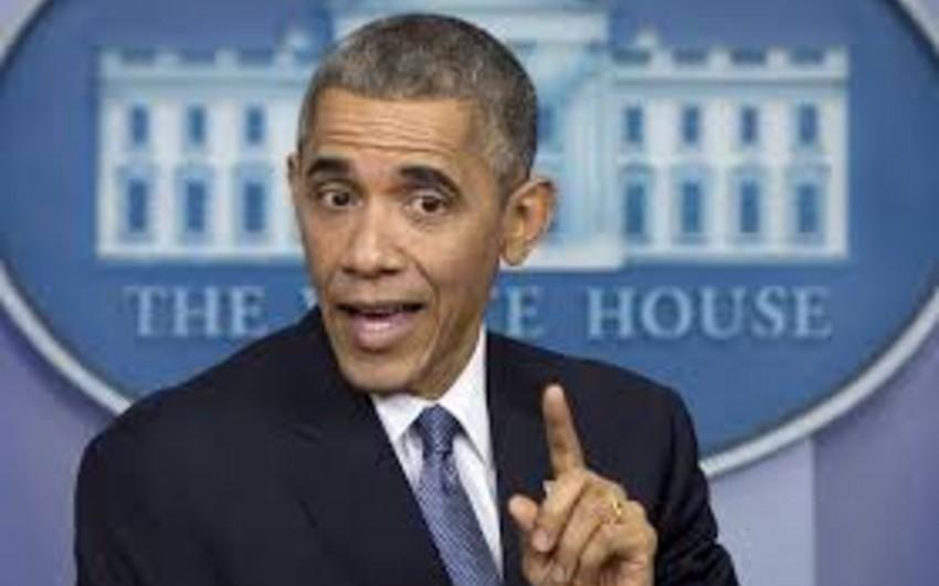 Obama Rusiyanın Suriya strategiyasını böyük səhv adlandırıb