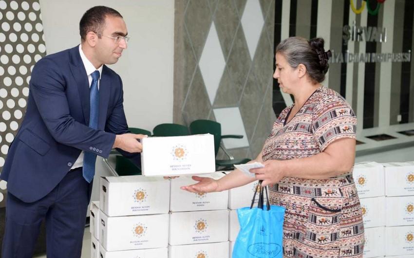 Завершилась раздача Фондом Гейдара Алиева малоимущим семьям праздничных паев по случаю Гурбан байрамы