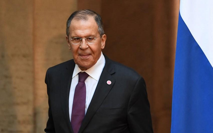 Lavrov: ABŞ-ın sanksiyalarından heç kim sığortalanmayıb