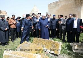 Religious leaders in Azerbaijan embark on visit to Aghdam