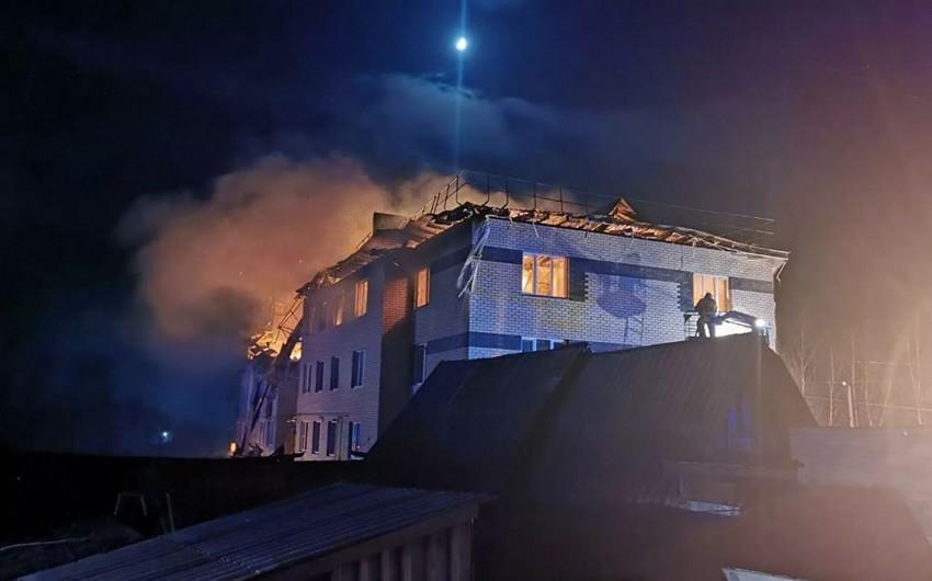 Rusiyada partlayış nəticəsində bir nəfər ölüb, xəsarət alanlar var