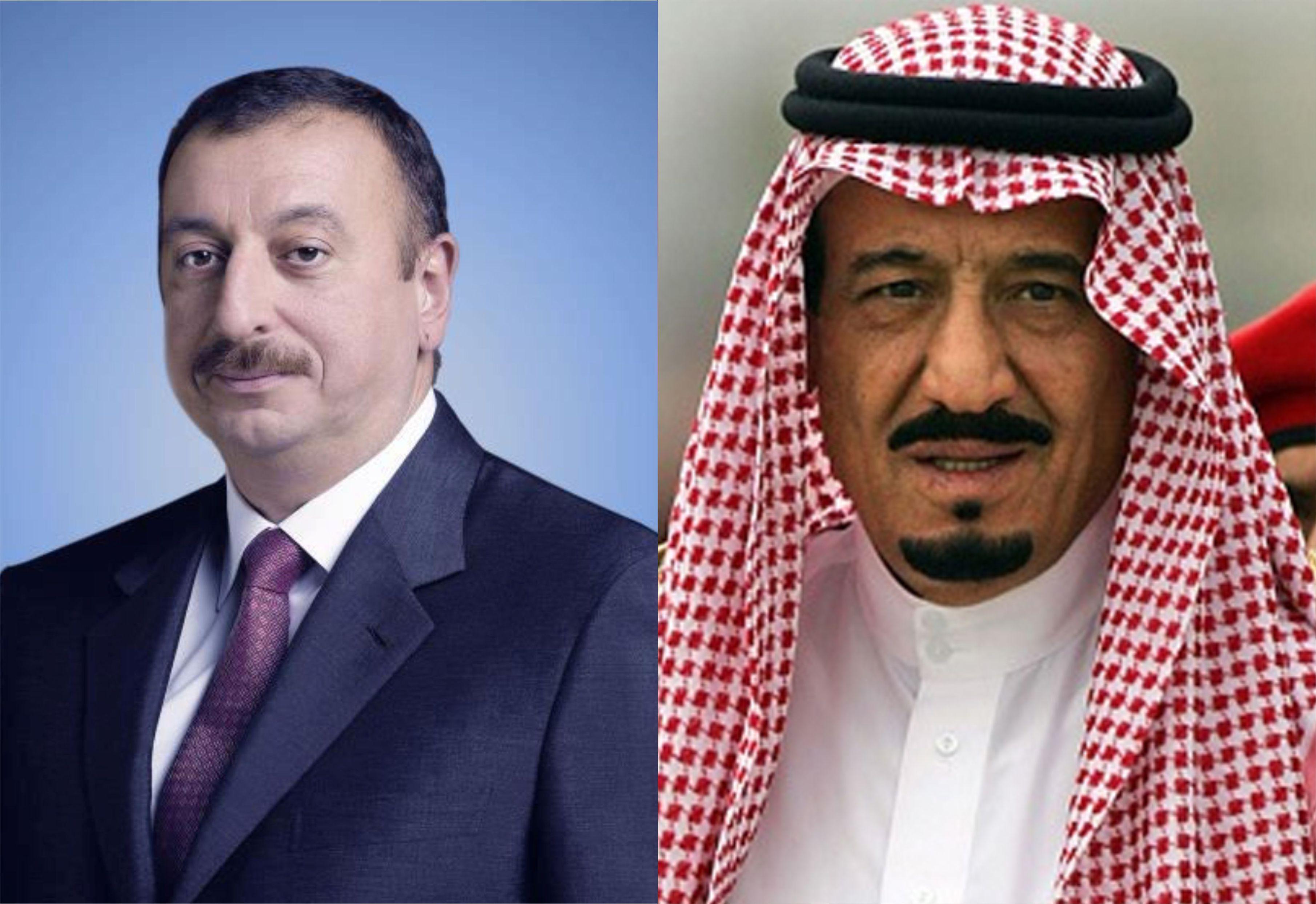 Король Саудовской Аравии направил поздравительное письмо президенту Азербайджана