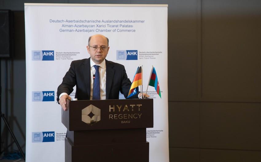 Energetika naziri 2018-ci ilin ilk AHK-İmpuls tədbirində iştirak edib