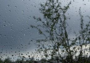 Sabah Bakıda və rayonlarda yağış yağacaq