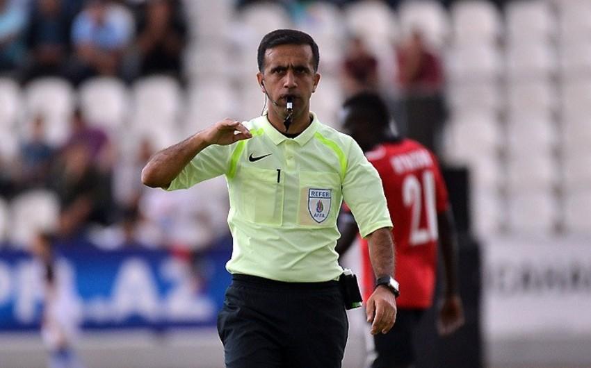 Azərbaycanın FIFA referisi Braziliya millisinin oyununa təyinat alıb