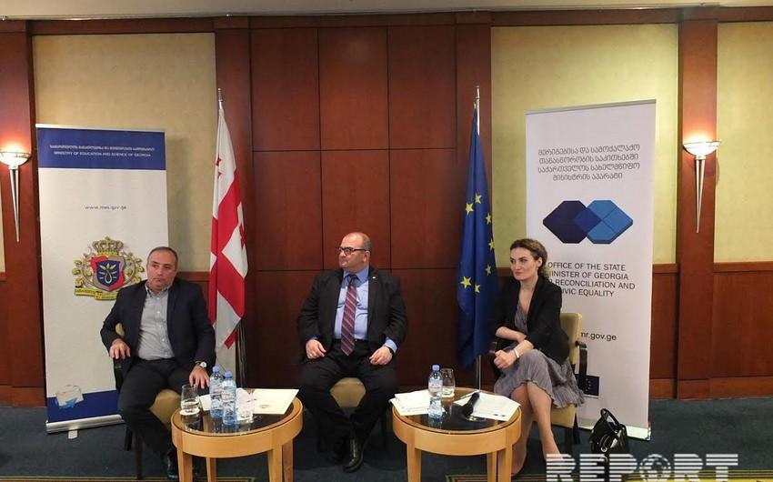 Gürcüstanda milli azlıqların təhsil problemlərinin həlli ilə bağlı yeni proqram hazırlanıb