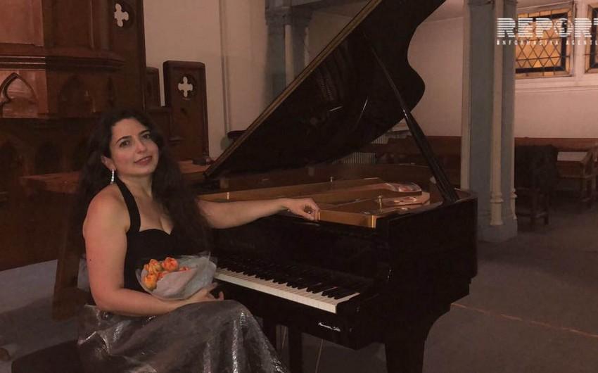 Parisdə azərbaycanlı pianoçunun konserti keçirilib