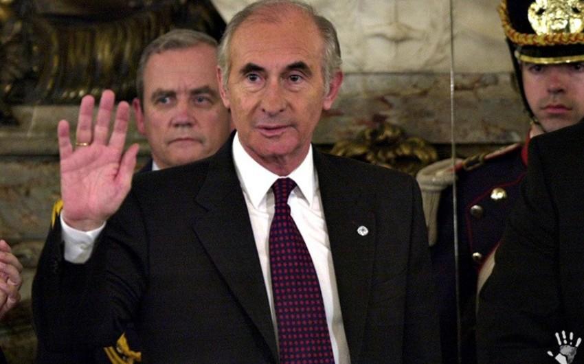Argentinanın keçmiş prezidenti vəfat edib