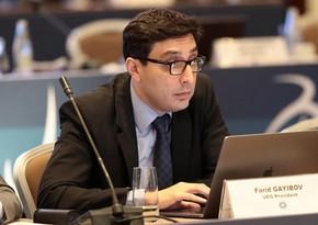 Fərid Qayıbov FIG prezidentliyinə namizəd oldu