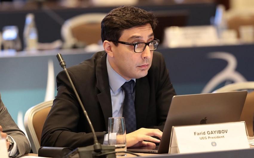 Qayıbov FIG prezidentliyinə namizəd oldu