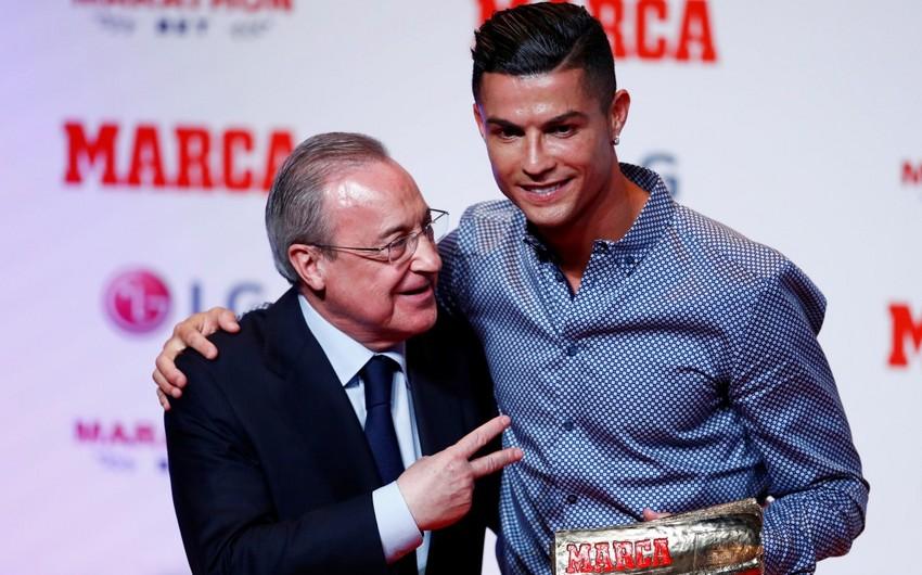 Real Madridin prezidenti Ronaldunu təhqir edib