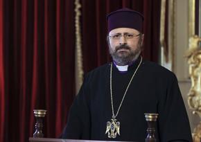 Erməni patriarx xarici ölkələri 1915-ci il hadisələrini siyasi alətə çevirməməyə çağırıb