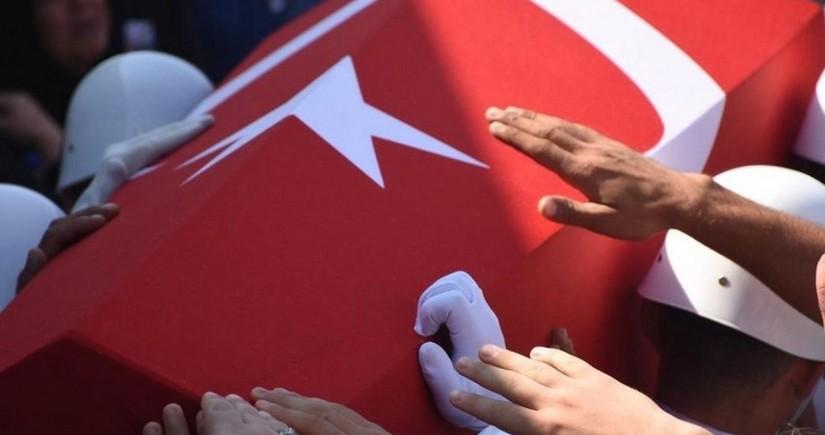 Türkiyə hərbçisi şəhid olub