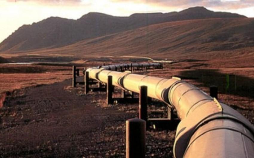По трубопроводу Баку-Тбилиси-Эрзурум транспортировано 3,6 млрд. кубометров газа