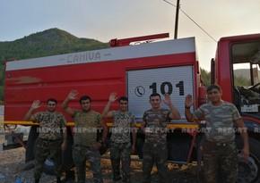 FHN-in əməkdaşı: Bu gün Köyceyiz, Çayhisar və Sazakda yanğınları söndürdük