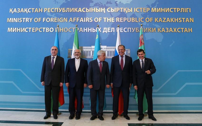 В Астане проходит cовещание министров иностранных дел прикаспийских государств