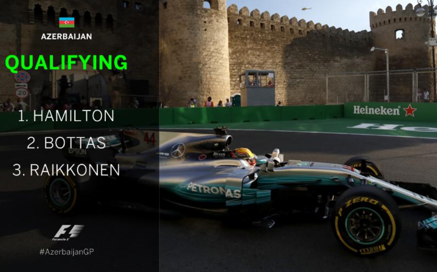 Formula 1: Luis Hemilton sıralama turunun qalibi olub