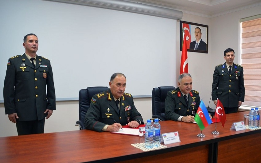 12th meeting of Azerbaijan-Turkey High-Level Military Dialogue completed, protocol signed