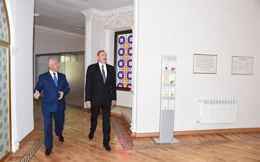 В Хачмазе сдано новое здание Дома бракосочетаний