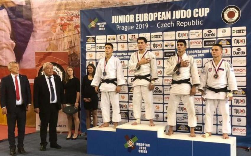 Azərbaycan cüdoçuları Avropa kuboku yarışının ilk günündə 3 medal qazanıblar - FOTO