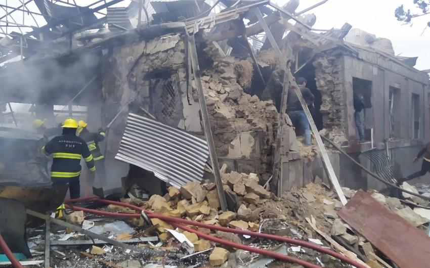 Ombudsman Aparatı: Gəncənin bombalanması hərbi cinayətdir