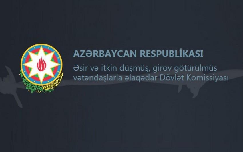 Dövlət Komissiyası Qarabağ münaqişəsində itkin düşmüş Azərbaycan vətəndaşlarının sayını açıqlayıb