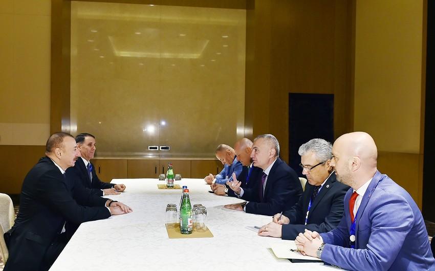 Prezident İlham Əliyev Albaniyanın Prezidenti İlir Meta ilə görüşüb - YENİLƏNİB