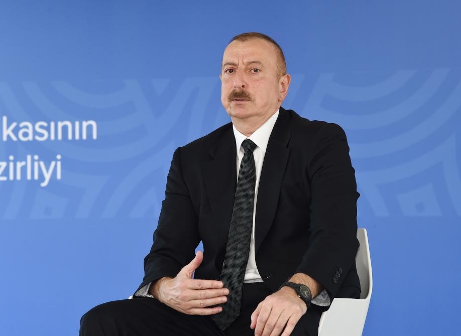 Президент Ильхам Алиев: Даже в сложный период мы оказали помощь более чем 30 странам