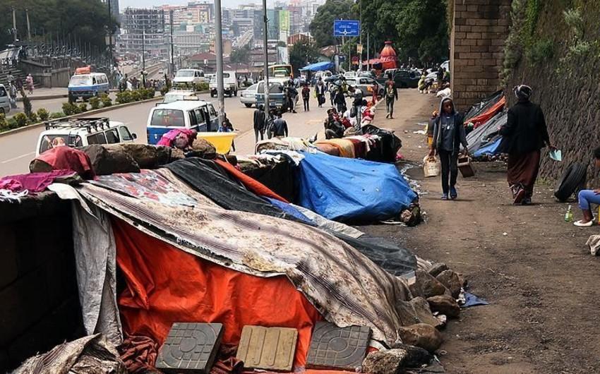 Efiopiyada bir il ərzində 1200 nəfər etnik toqquşmaların qurbanı olub