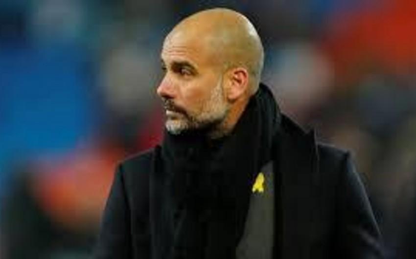 Qvardiola yanvarda Mançester Sitiyə yeni futbolçular almaqdan imtina edib