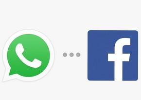 """WhatsApp: İstifadəçilərin mesajlarını messencer və """"Facebook"""" görmür"""