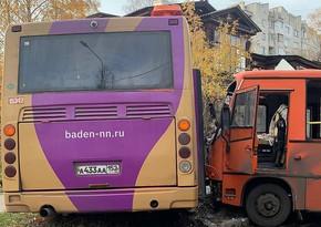 В России при ДТП с автобусами пострадали 24 человека