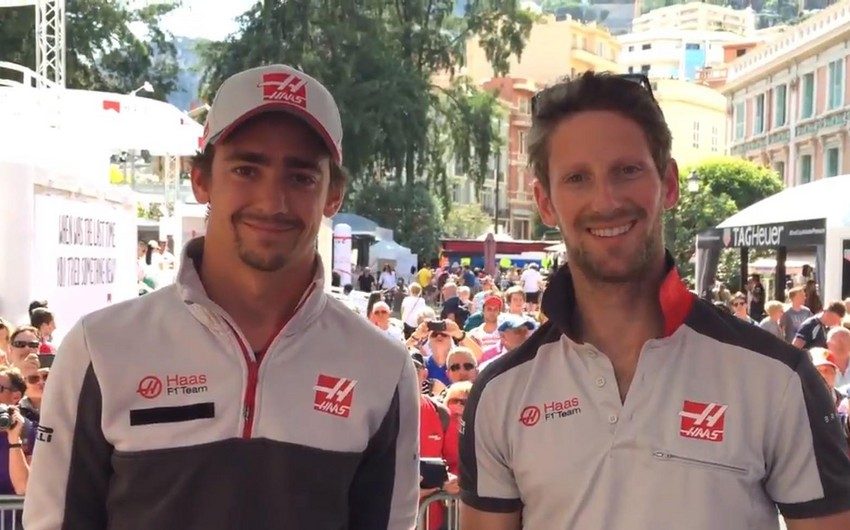 Formula-1 üzrə ABŞ-ın Haas komandasının pilotları Bakı azarkeşlərinə müraciət ediblər