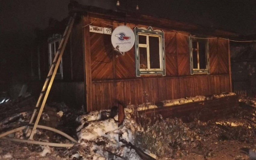 Три человека погибли на пожаре в томском селе