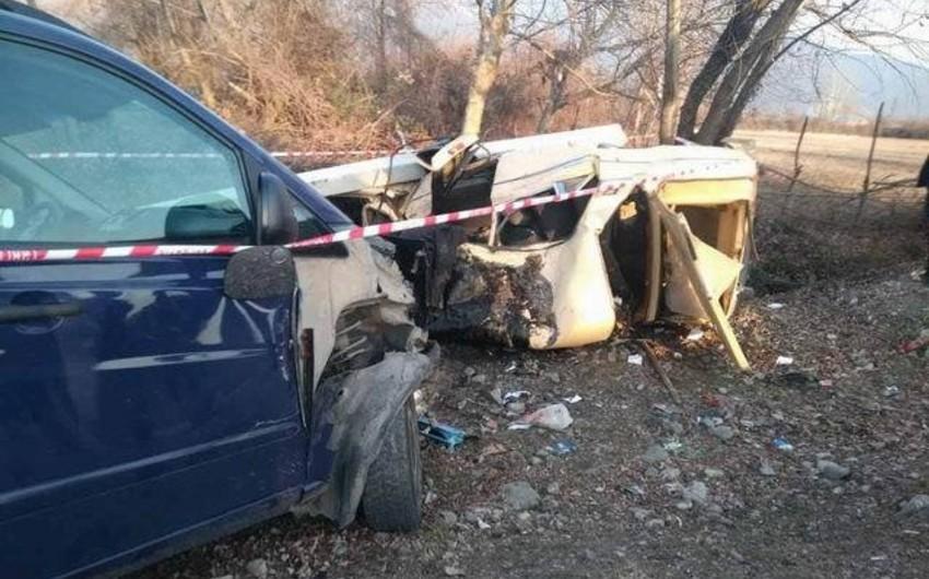 Qırğızıstanda baş verən yol qəzasında 7 nəfər öldü