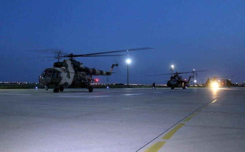 Azerbaijan's military helicopters to participate inAnatolian Phoenix-2019 int'l exercises
