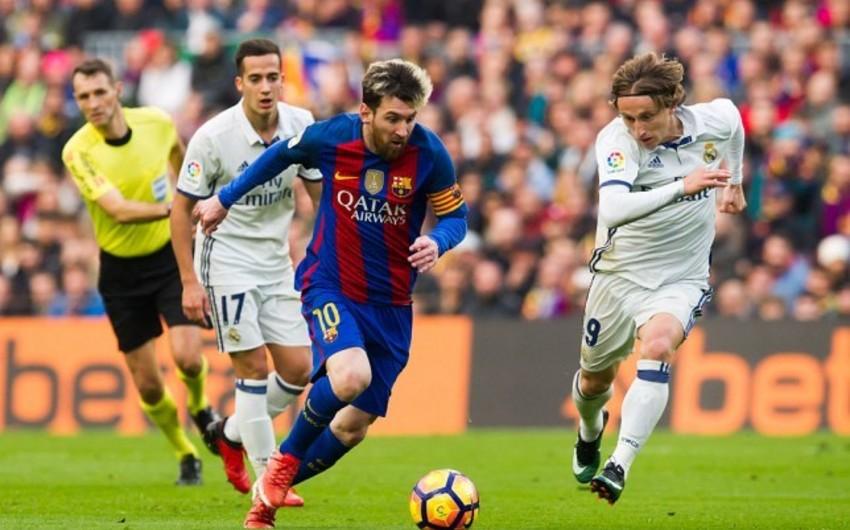 """""""Barselona"""" - """"Real Madrid"""" oyununun yeri dəyişdirilə bilər"""