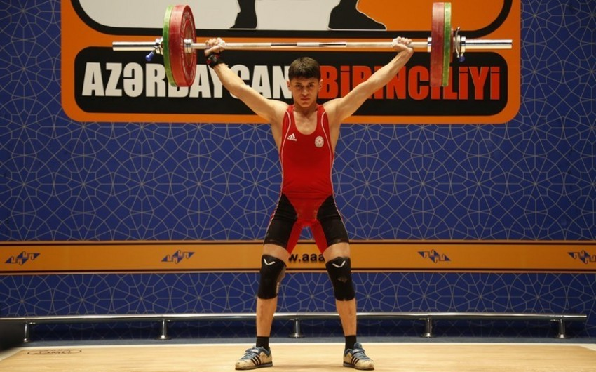 Azərbaycan ağırlıqqaldıranı Avropa rekordunu müəyyənləşdirib