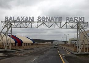 Balaxanı Sənaye Parkının məhsullarının ixrac edildiyi ölkələr açıqlanıb