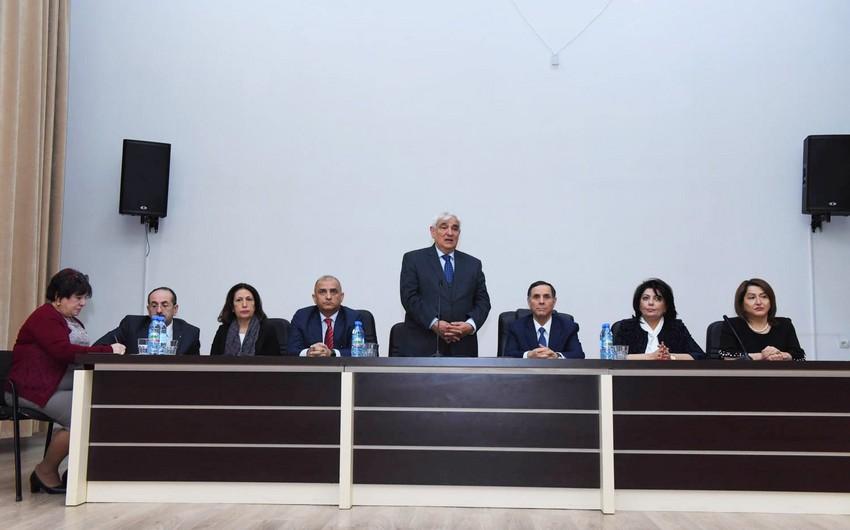 Kamal Abdulla: İnanıram ki, Novruz Məmmədov öz fəaliyyətini bizim universitetdə ləyaqətlə davam etdirəcək - FOTO